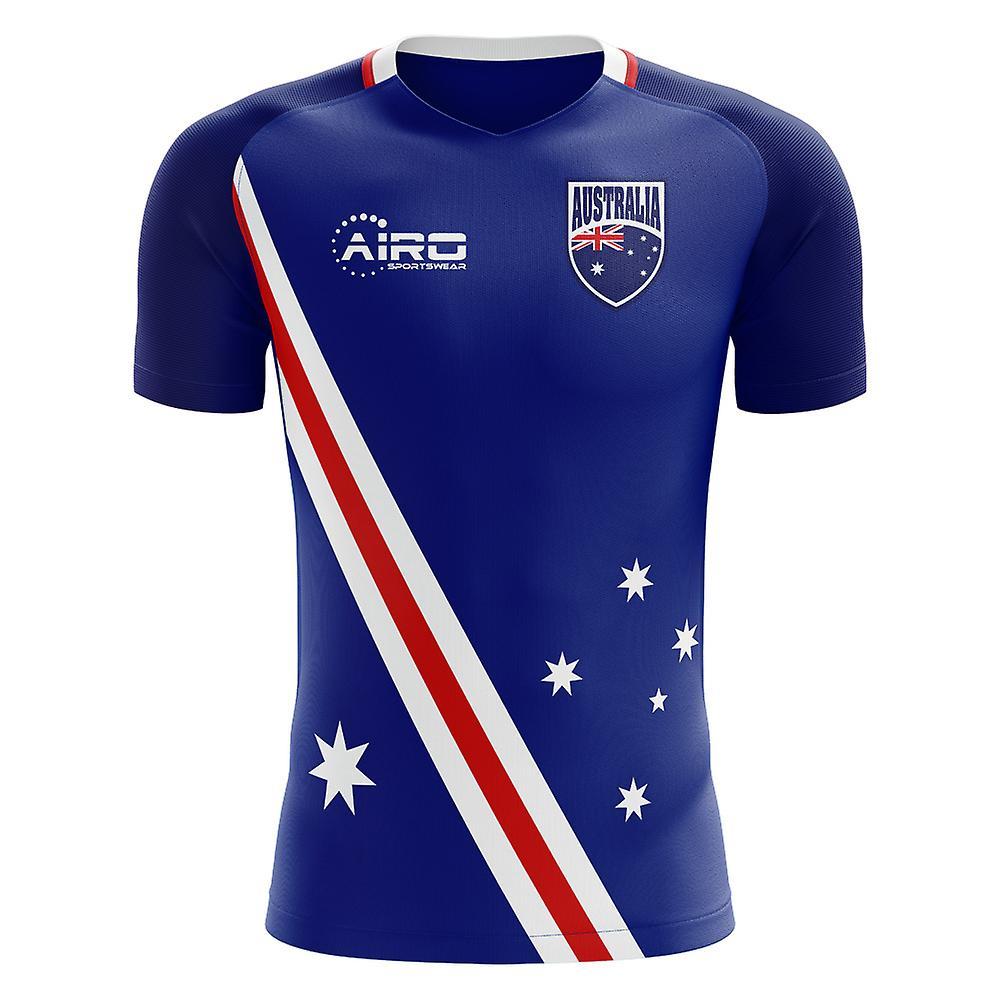 2018-2019 Australia Flag Away Concept Football Shirt  075a6f91f
