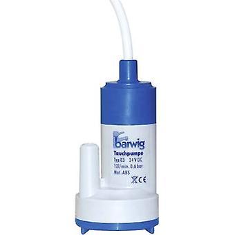 Barwig 03 24 baja tensión sumergible bomba 720 l/h de 6 m