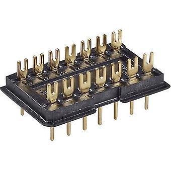 Fischer Elektronik 10031644 DIL Plug (L x b x H) 22,6 x 12,5 x 7,6 mm