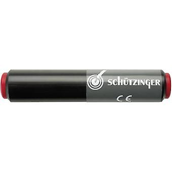 Schützinger SKU 7035/NI/SW Connector 4 mm socket - 4 mm socket Black 1 pc(s)