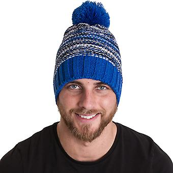 Outdoor Look Mens Dunnet Pom Pom Thermal Beanie Ski Hat