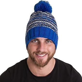 Outdoor Look Mens Dunnet Pom Pom thermische Beanie Ski hoed