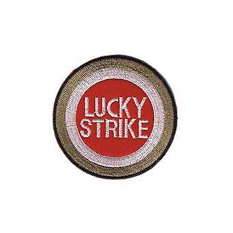 Lucky Strike stryg-på/sy-på klud Patch