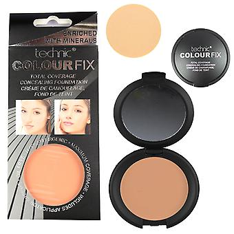 Technic Total Coverage Concealing Foundation - Terracotta