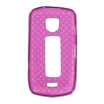 OEM Verizon High Gloss Silicone Case pour Samsung DROID Charge i510 (Purple) (Bulk Packaging)