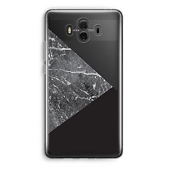 Huawei Mate 10 caso transparente (Soft) - combinação de mármore