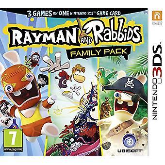 Rayman and Rabbids Family Pack (Nintendo 3DS) - Novo