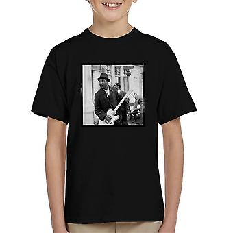 TV Times Muddy Waters Blues And Gospel Train 1964 Kid's T-Shirt