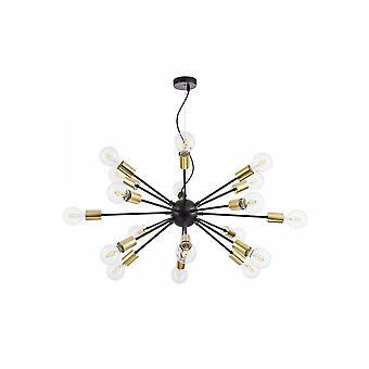Maytoni Lighting Jackson Loft Pendant, Black