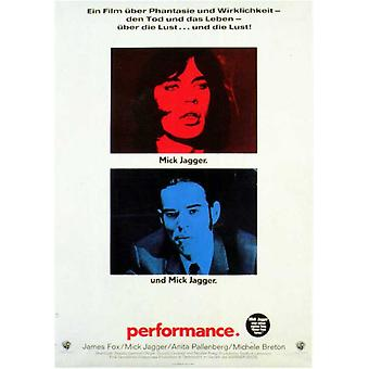 Performance Movie Poster (11 x 17)