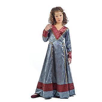 Mittelalterliches Mädchen Jimena Kinderkostüm Burgfräulein Edeldame Kinderkostüm