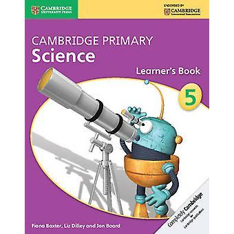 كتاب كامبردج علوم الابتدائي المرحلة 5 المتعلم فيونا باكستر-لي