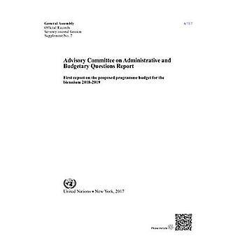 Rådgivande kommittén för administrativa och budgetära frågor - första R