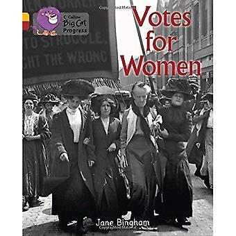 Progrès de Collins de félins - Votes pour les femmes: bande 09 or/bande 14 Ruby