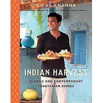 La récolte indienne: Classique et contemporains plats végétariens