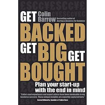 Obtenez soutenu, devenir gros, obtenir acheté: Plan votre démarrage avec l'extrémité à l'esprit