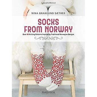 Sokker fra Norge: Over 40 Strik mønstre inspireret af traditionel norsk design