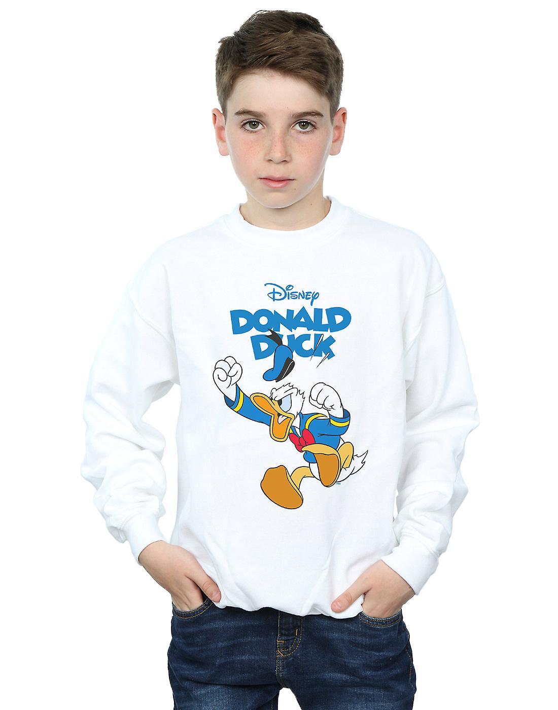 Disney Boys Donald Duck Furious Donald Sweatshirt