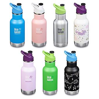 Klean Kanteen Kids - Vacuum insulated drinks bottle - 12oz/355ml with Sport Cap