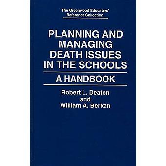 計画および死の管理問題学校 Deaton ・ ロバート l. によってハンドブック
