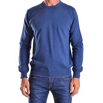 Altea Ezbc048019 Men's Blue Cotton Sweater