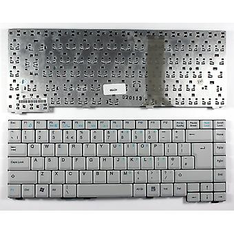 Fujitsu Siemens K010727F3 blanc UK Layout remplacement clavier d'ordinateur portable