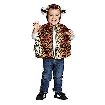 Leopards Cape Leokostüm traje animal para crianças