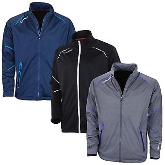 Sunice Mens Kern Full Zip Flexvent Stretch Waterproof Golf Jacket
