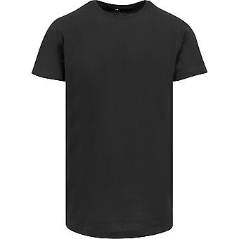 Cotton Addict Mens Shaped Long Cotton Short Sleeve T Shirt