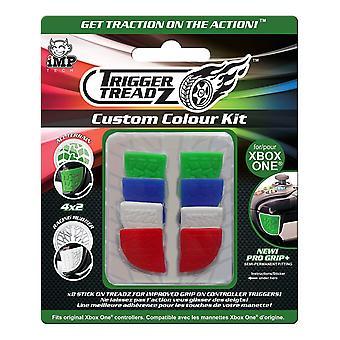 Trigger Treadz 8-Pack aangepaste kleur Kit voor de Xbox een controller