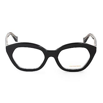 Balenciaga BA 5060 003 51 Hexagonal Cat Eye Eyeglasses Frames