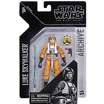 Star Wars-Luke Skywalker, de collectie van de Black Series Archive