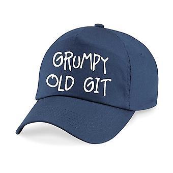 Grumpy Old Git Baseball Cap Cap