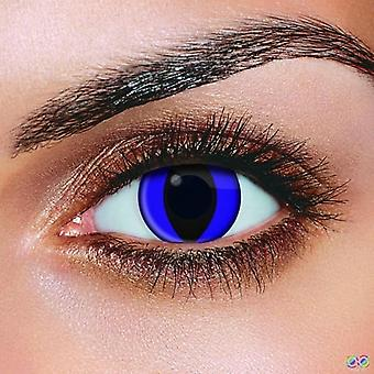Blue Cat Eye Contact Lenses (Pair)