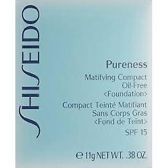 Shiseido Pureness Matifying Compact poeder van het olie-vrij Stichting SPF15 11g - licht ivoor