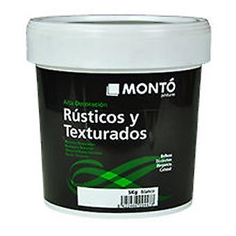 Monto 黒い白い壁の地中海イビサ (DIY、塗装)