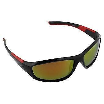 Men's sunglasses and Sunglasses Women's Polaroid Sport - Red/Yellow with free brillenkokerS373_1