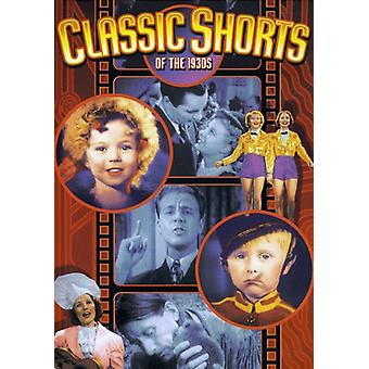 Classic Shorts of the 1930's [DVD] USA import