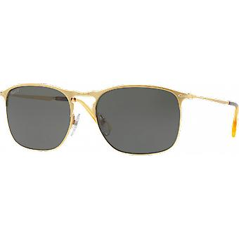 Persol 7359S Large Golden Polarized Green