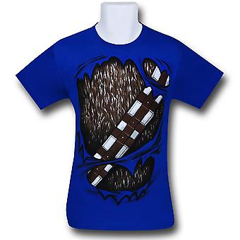 Star Wars Chewbacca rip Through 30 yhden T-paidan