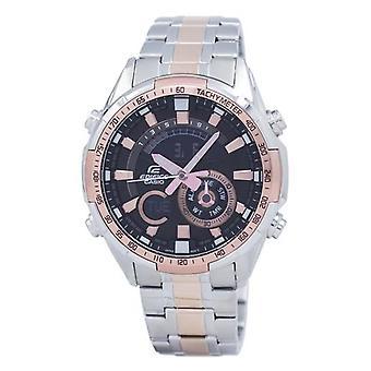 Casio Edifice Chronograph Tachymeter Analog Digital Era-600sg-1a9v Era600sg-1a9v Men's Watch