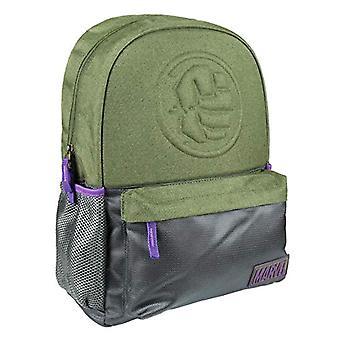 Artesania Cerda Mochila Escolar Instituto Avengers Hulk Backpack - 44 cm - Green