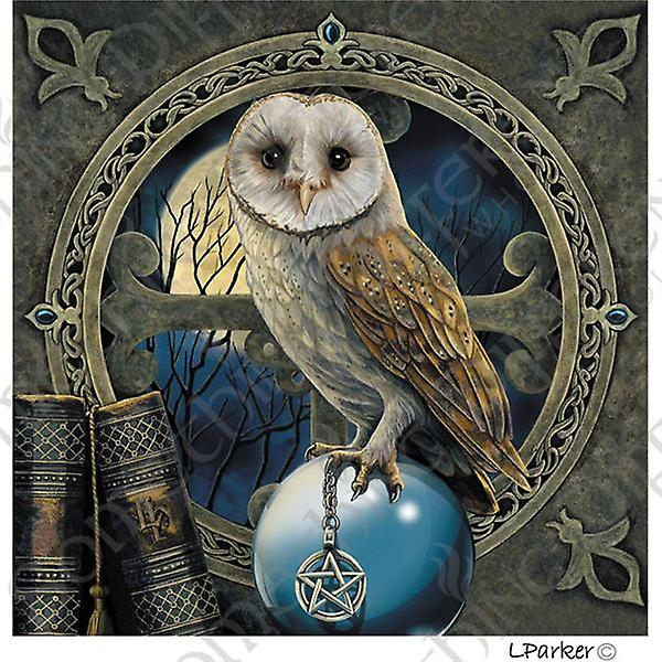 Owl Spell Keeper Card with Envelope