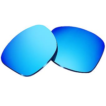 SeekOptics Replacement Lenses for Oakley Holbrook Blue Mirror UV400 Non-Polarized Polycarbonate