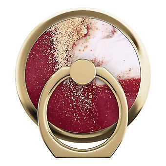 iDeal de Suecia Anillo Monte Universal-Oro Borgoña Mármol