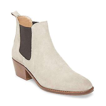 Steve Madden Womens Chaselyn Leather Square Toe Ankle Chelsea Boots