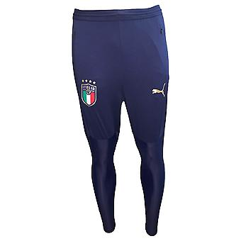 2019-2020 Italy Puma Pro Training Pants (Peacot)
