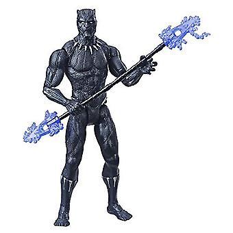 アベンジャーズ マーベル ブラックパンサー 6インチスケール マーベル スーパーヒーロー アクションフィギュア トイ