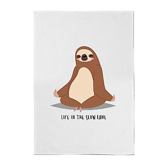 Life In The Slow Lane Cotton Tea Towel