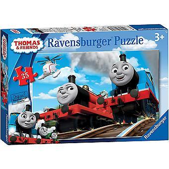 Ravensburger 8710 Thomas & amigos de emergência quebra-cabeça - 35 peças